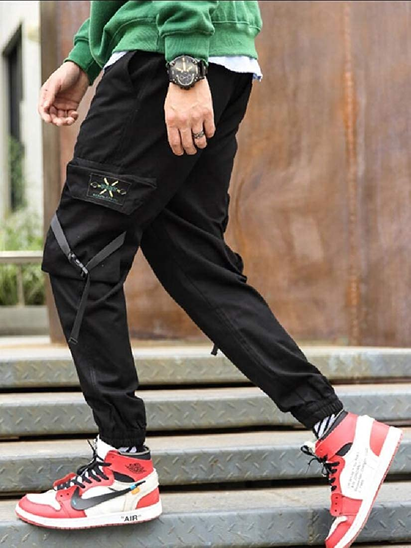Men Casual Military Army Cargo Combat Work Pocket Pant