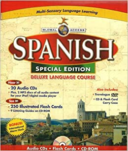Global Access Spanish: Deluxe Language Course (English and
