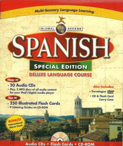 Global Access Spanish: Deluxe Language Course (English and Spanish Edition) by Penton Overseas Inc