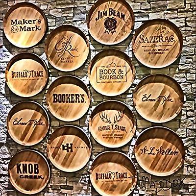 Bourbon Barrel Heads Coaster