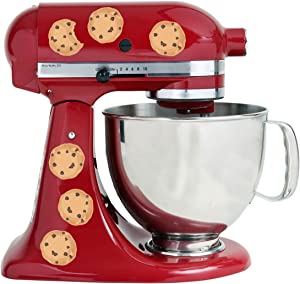 Chocolate Chip Cookies Yummy Treats Kitchen Decal Kit Mixer Machine Art Wrap