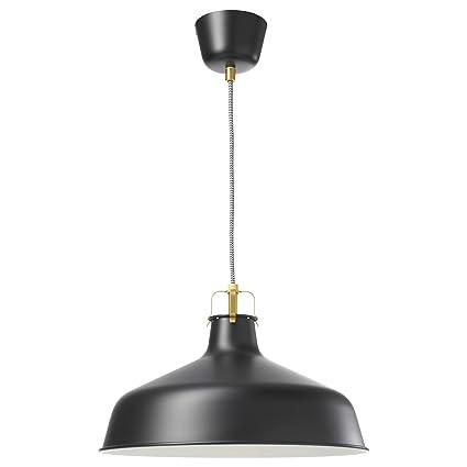 IKEA, lampada a sospensione RANARP, di colore nero: Amazon.it: Casa ...