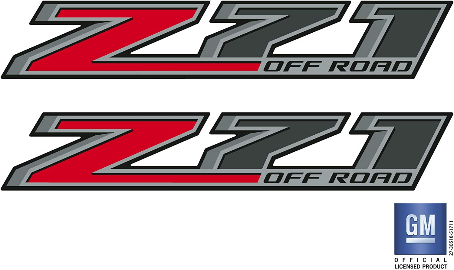 2014 15 16 17 18 Chevy Colorado Z71 OFF ROAD Bed Side Decal Stickers Set Of 2