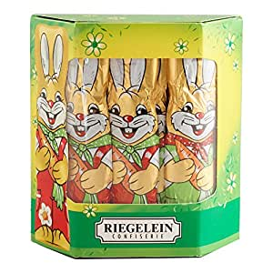 Riegelein 10 Solid Easter Bunnies in a Box Imported from Germany!