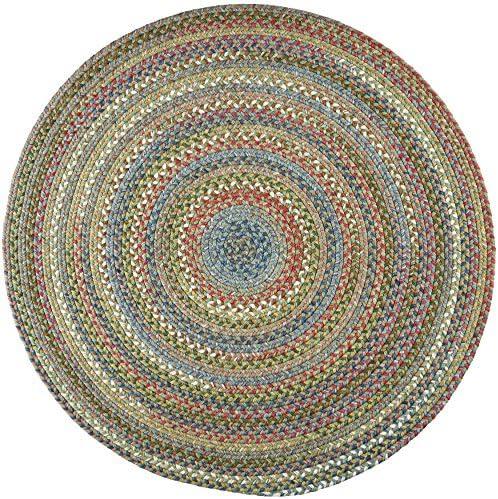 Chelsea Round Rug, 8-Feet, Peridot