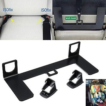 M H Universalriegel Isofix Gurtverbinder Auto Sicherheitsgurt Schnittstellen Führungshalterung Für Kindersitz Auf Kompakt Suv Schrägheck Auto