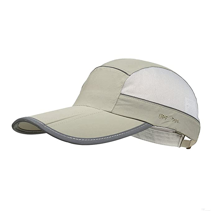 Baseball Cap Style Classic Breathable Outdoor Run Cap Foldable Adjustable Baseball Hat Quick Drying Outdoor Sport Running Cap Black Men's Clothing Clothing