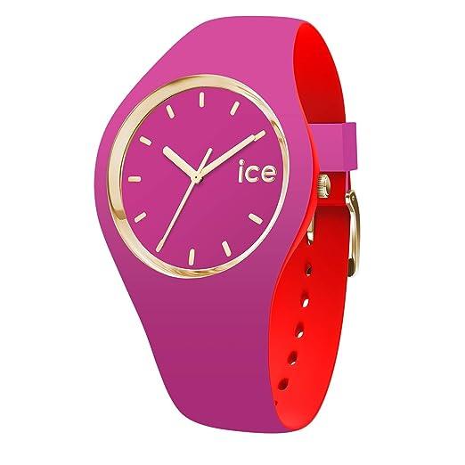 Ice-Watch Reloj Analógico para Mujer de Cuarzo con Correa en Silicona 7243: Amazon.es: Relojes
