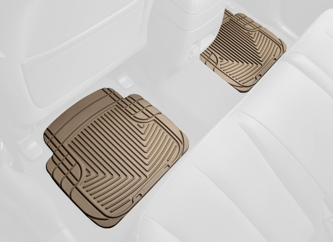 W50TN WeatherTech All-Weather Trim to Fit Rear Rubber Mats Tan