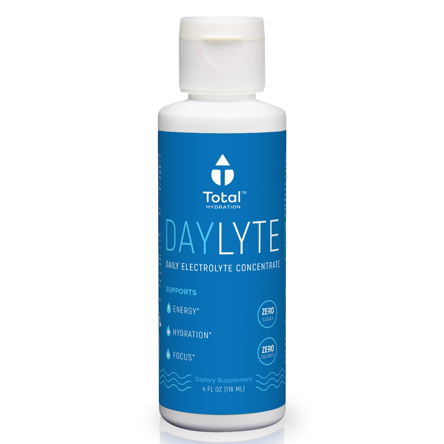Natural Electrolyte Concentrate Solution - Hydration Supplement - #1 Ranked - Rehydration for Endurance Sports, Exercise & Alcohol - w/Salt, Magnesium, Potassium & Trace Minerals - Vegan, Non-GMO,