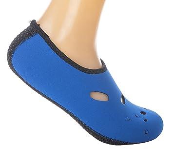 iSpchen Calcetines de Agua de Playa - Calcetines de Playa Antideslizantes Calcetines de Buceo Antideslizantes Unisex Zapatos de Yoga Surf Sailing Sport,Azul ...