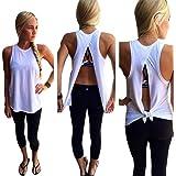 ESAILQ Camisoles Vests, Women Summer Vest Top Sleeveless Blouse Casual Tops