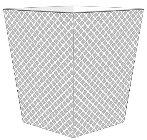WB2804-Gray Chelsea Wastepaper Basket