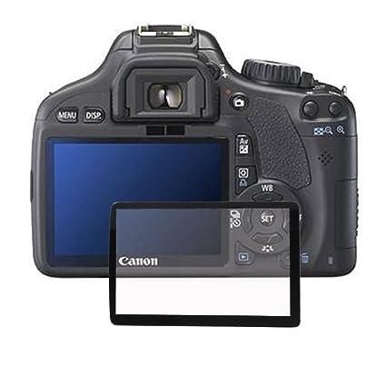 Clear LCD de pantalla de cristal óptico protector para Canon 550D ...