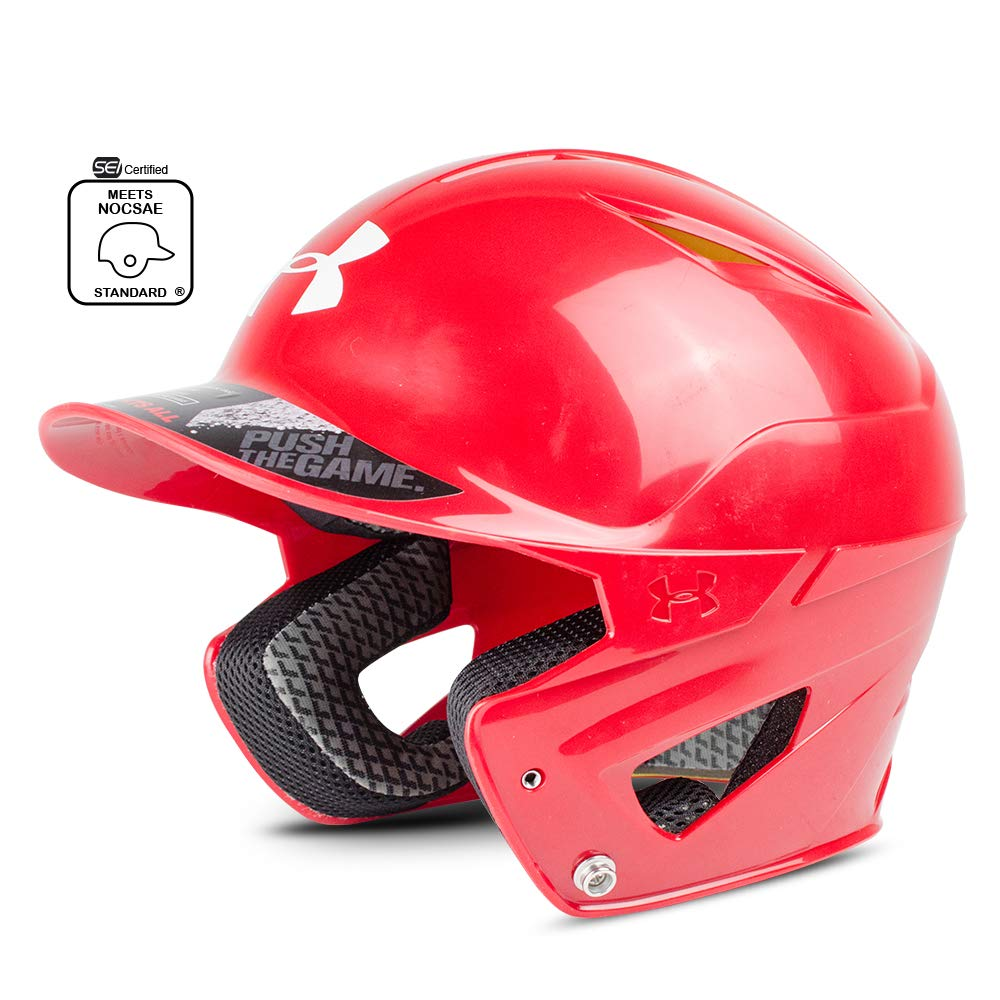 Under Armour Converge Batting Helmet - Solid Coated