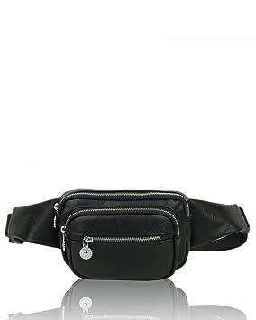 c488ec8b83b Craze London New Unisex Fanny Pack 4 Pockets Waist/Bum Bag Adjustable Belt  for Men and Women Running, Cycling and Fishing