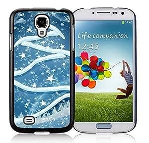 Hight Quality Samsung S4 TPU Protective Skin Cover Art Samsung S4 TPU Protective Skin Cover Christmas Tree Black Samsung Galaxy S4 i9500 Case 2