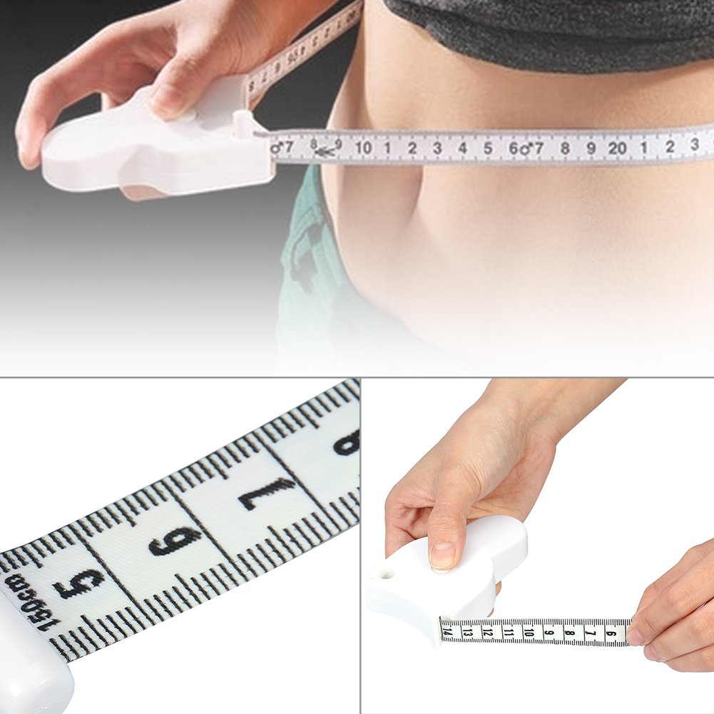 Body Tape Measure Y-shaped Beauty Healthy Loss Weight Measuring Ruler Retractable Fitness Tape Measure