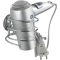 Wenko Turbo-Loc Soporte para Secador, Acero, Plateado, 11.5x14x7.5