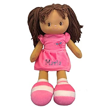 Amazon.com: Personalized Dibsies Butterfly Snuggle - Muñeca ...