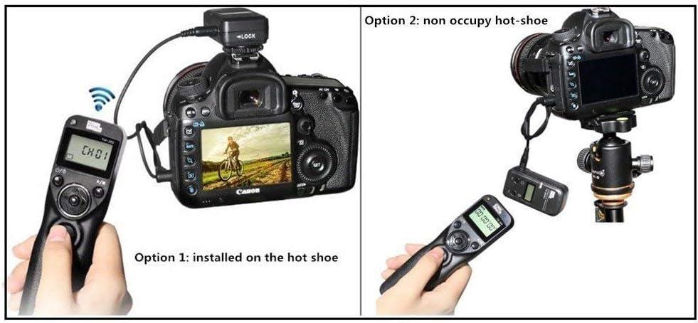 Pixel Timer Shutter Release Remote Control TW283-S2 Remote Release for Sony A58 A7 A7II A7R A7RII A7S A3000 A5000 A5100 A6000 RX100II HX300 HX400V HX50V HX90V