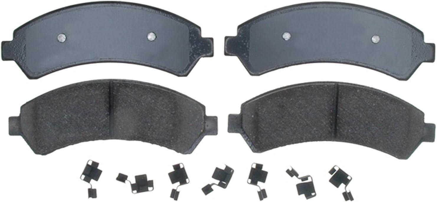 Disc Brake Pad Set-Ceramic Disc Brake Pad Rear ACDelco Advantage 14D729CH