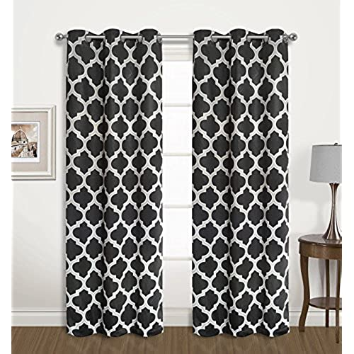 black trellis room products set curtains edward window pair darkening curtain