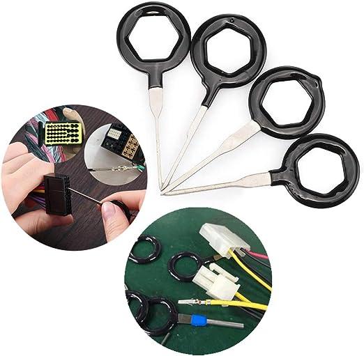 Bkinsety 29stk Pin Extractor Tool Entriegelungswerkzeug Auspinn Werkzeug Steckverbindung Demontage Handwerkzeug Sets Baumarkt