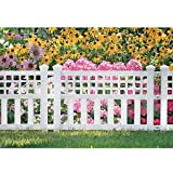 Suncast . Grand View Fence, 3-Pack, White