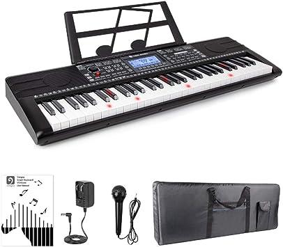 QING.MUSIC Keyboard instrument Teclado de Piano eléctrico ...