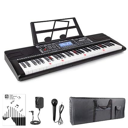 QING Electric Piano Keyboard Intelligent APP Key Lighting Multi-Function Beginner Teaching Adult
