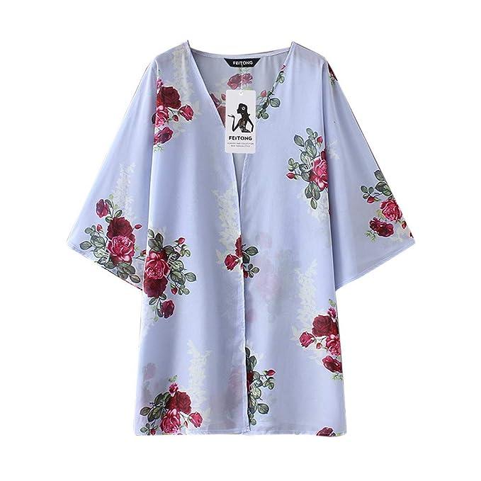 LANDF-OX para Mujer Elegantes Blusas Mujer Tallas Grandes Blusas para Mujer Blusas para Mujer