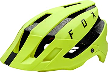 Fox Flux Mips Casco, Yellow/Black, tamaño XS/S