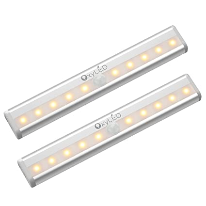 OxyLED Motion Sensor Lights, Cordless Closet Light Under Cabinet  Lightening, Stick On Wireless