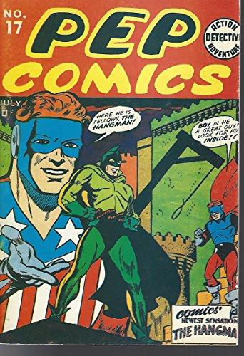 (Pep #17 Alan Light Flashback The Shield and Hangman Death of the Comet FN+)