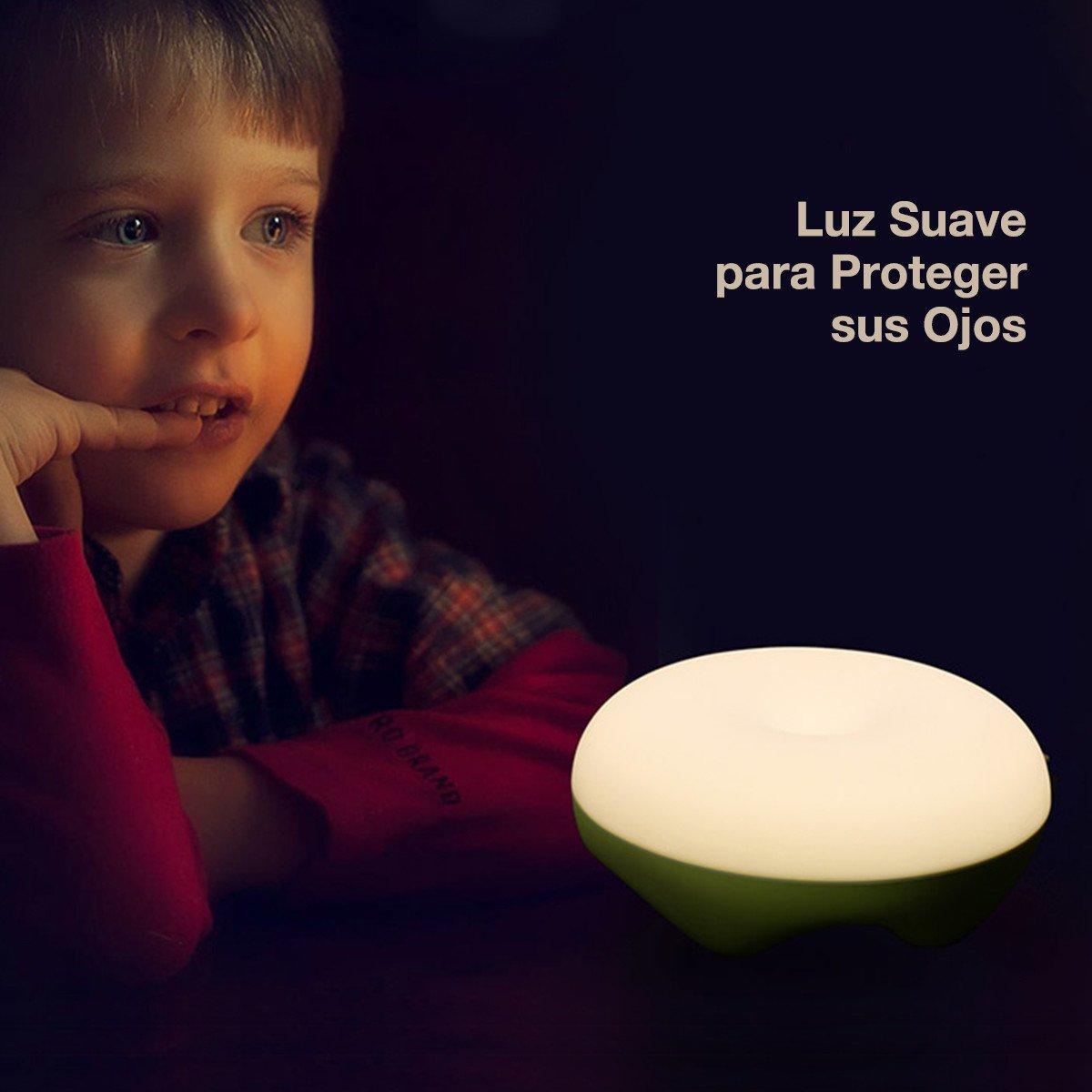 Poweradd LED Luz Lámpara Táctil Nocturno para Camping o Habitación Dormitorio