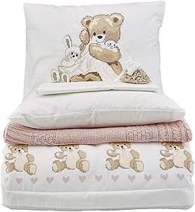 حجم مهد/طفل,قطن تركي,نمط شخصيات,متعدد الالوان - اطقم اغطية سرير