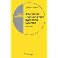 Differential Equations And Dynamical Sys (Texts in Applied Mathematics)