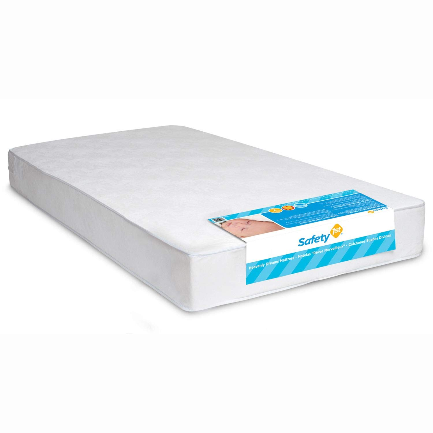 SAFETY 1st Heavenly Dreams Babys Mattress Lightweight