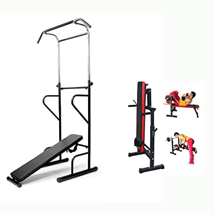 Genérico p Benca Pull Press en AB Sit Chin Up Ben Fitness Power Tower Peso AB