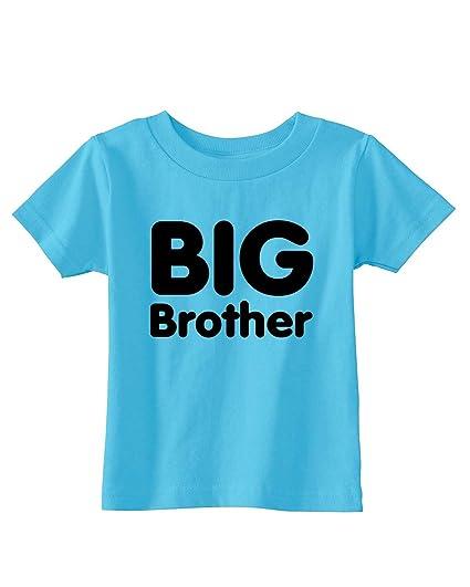 BIG BROTHER Infant/Toddler Tee~Aqua~Infants-6M
