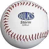 Wilks Softball Storm Softball - White, 11.5 Inch