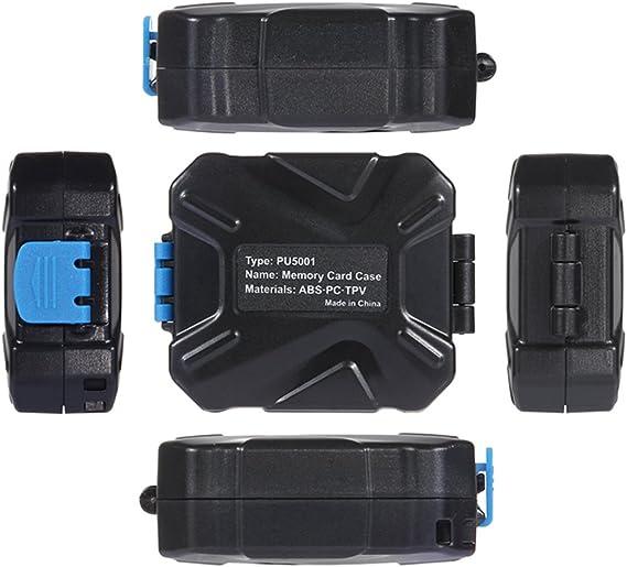 11 Slots: 3SIM + 2XQD + 2CF + 2TF + 2SD Card PULUZ Memory Cards Case Waterproof XQD SIM Micro SD CF TF Card Holder Stocker Storage Box