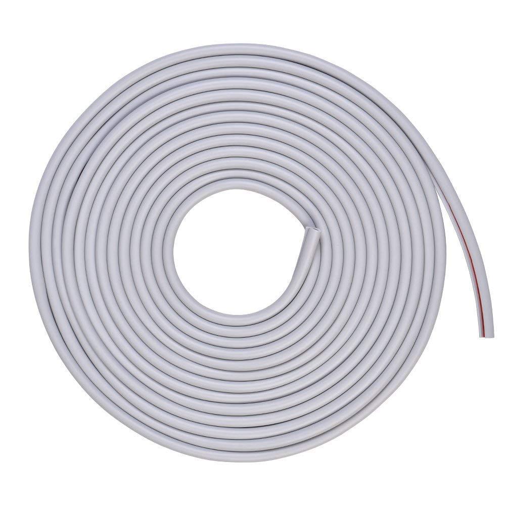 Yosoo 5M Car Door Edge Protector Door Trim Moulding Edge Guard Rubber Strip Anti-Scratch, White LEPAZA2263