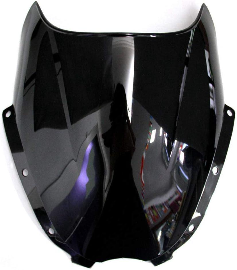 Nrpfell Double Bulle Pare-Brise Les Pi/èCes de Moto de Pare-Brise pour Les Accessoires de Moto HYOSUNG GT250R