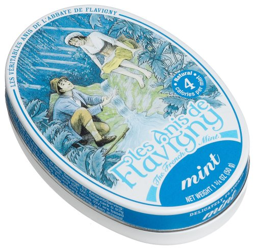Les Anis De Flavigny, Mint (French Mints), 1.75-Ounce Tins (Pack of 8)