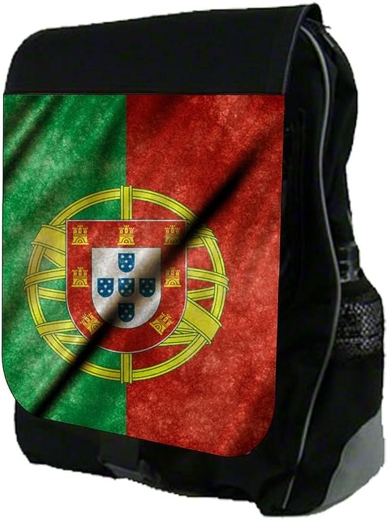 Portugese Flag Print Design TM School Backpack