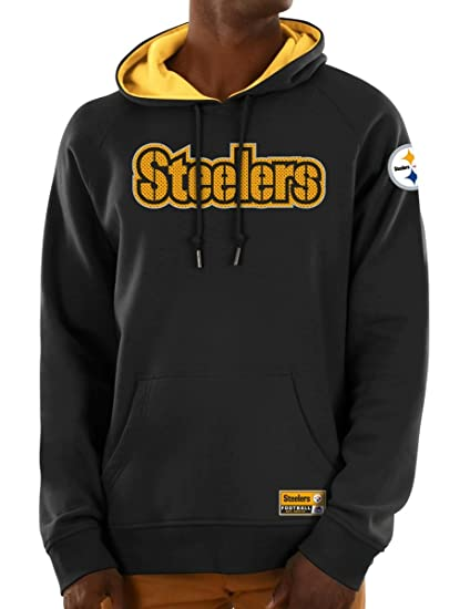e71bf4908 Amazon.com   Majestic Pittsburgh Steelers NFL Dynasty Men s Pullover ...