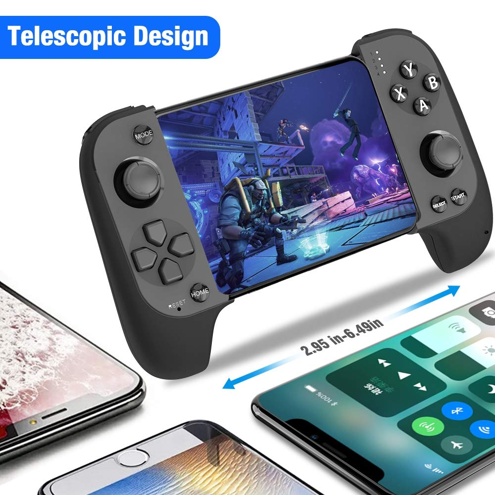 Wireless Remote Controller Gamepad for Bluetooth,Supports