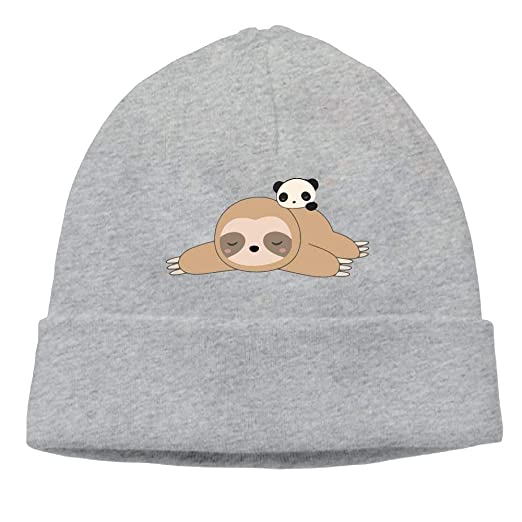 ad75d0ee7 Amazon.com: Co pello! cap Unisex Cute Sloth Panda Sleeping Classic ...